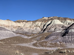 Blue Mesa area at Petrified Forest National Park